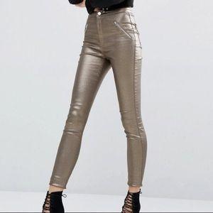Denim - Gold jeans